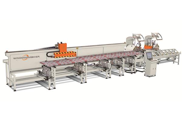 Aluminum Profile CNC Cutting Center WMC-CNC-4000