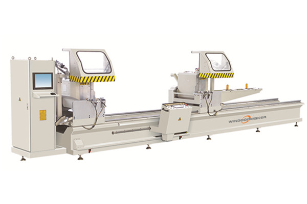 CNC Integrated Any Angle Double Head Precision Cutting Saw WMC2A-CNC-500*5000
