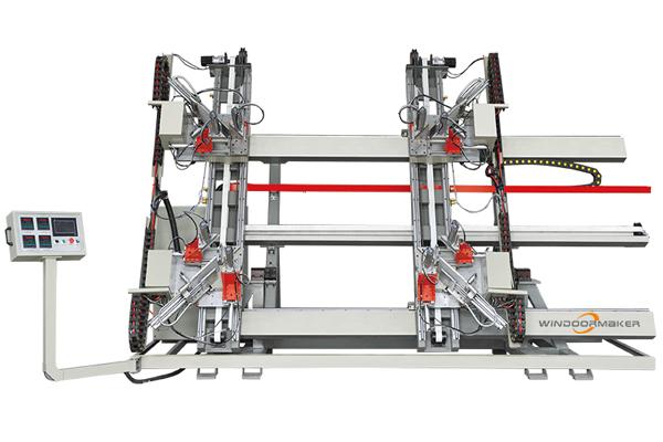 PVC CNC Four Head Vertical Welding Machine WMW4-CNC-3000