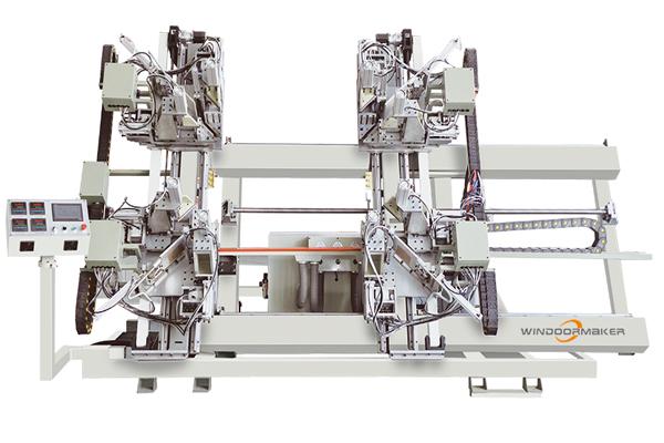 PVC CNC Four Head Vertical Seamless Welding Machine WMWS4-CNC-3000