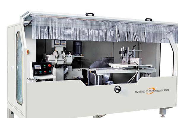 Aluminum Curtain Wall Notching Machine WMN-500